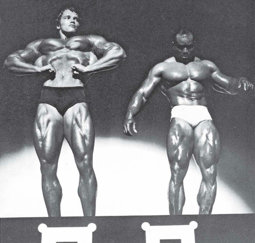 """1970年的""""奥林匹亚先生""""赛,我和塞吉奥·奥利瓦"""
