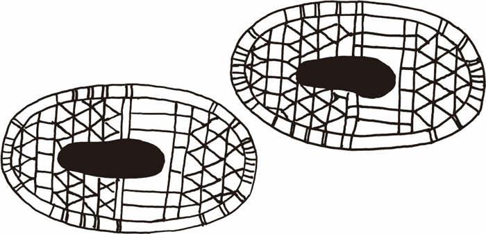 熊掌式雪鞋