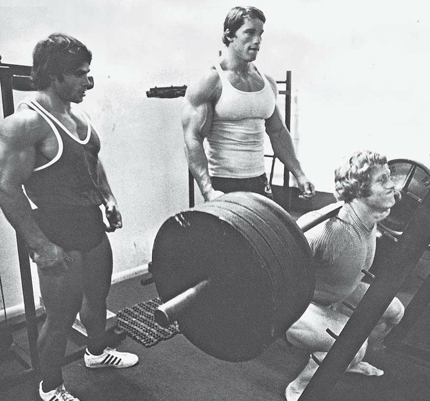 我的训练总是处于一流水准,因为我有如弗朗哥·哥伦布和肯·沃勒一般优秀的训练伙伴来激励我。