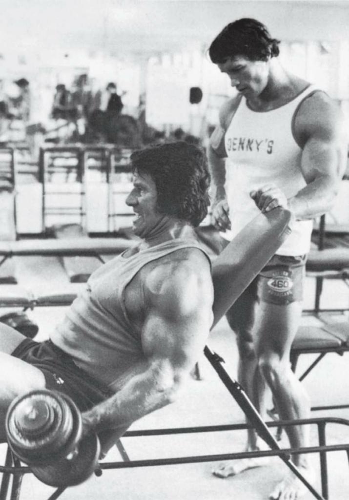 我一生中最刺激的事情莫过于能同我心中的健身英雄雷格·帕克一起训练。