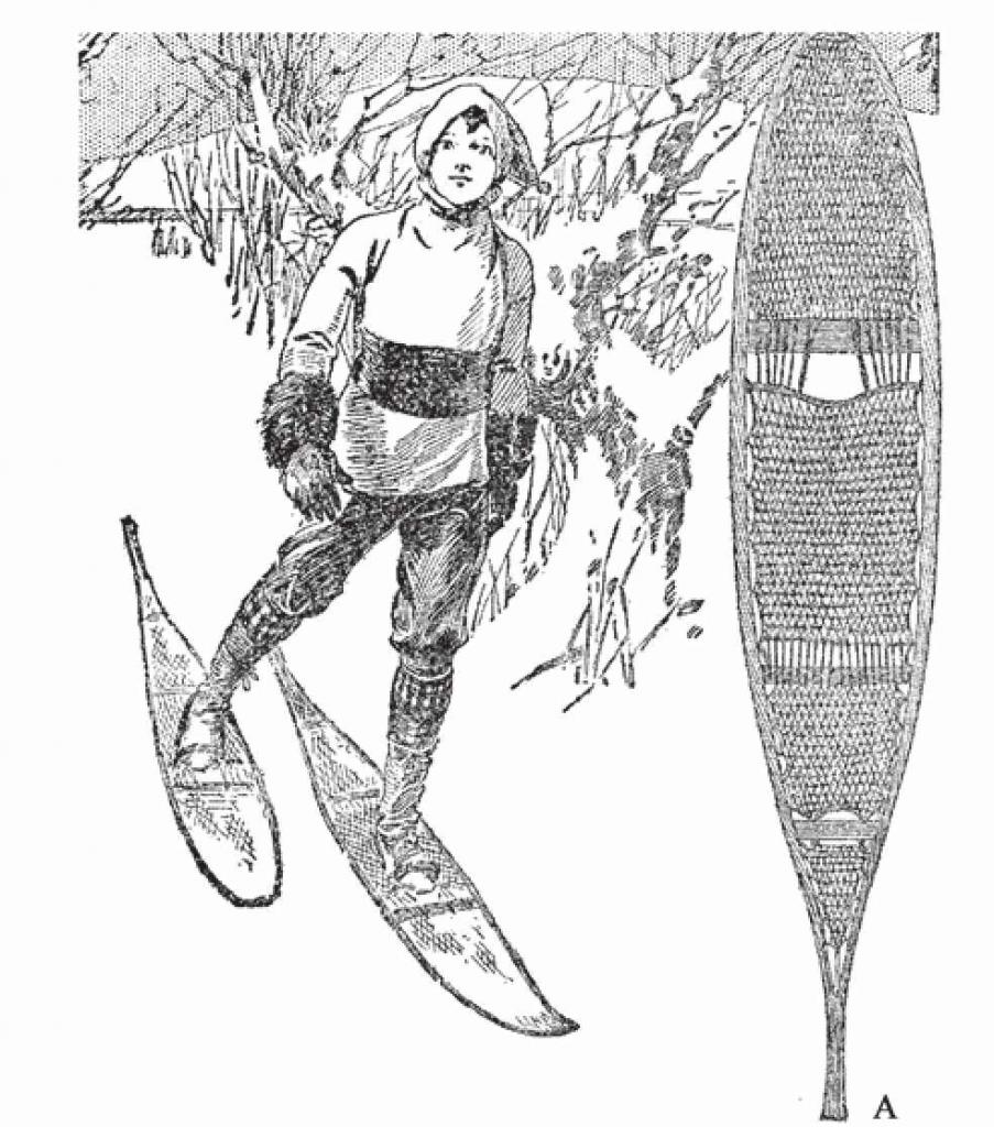 雪鞋专家认为这是一种极端的样式,因为它两侧前窄后长。
