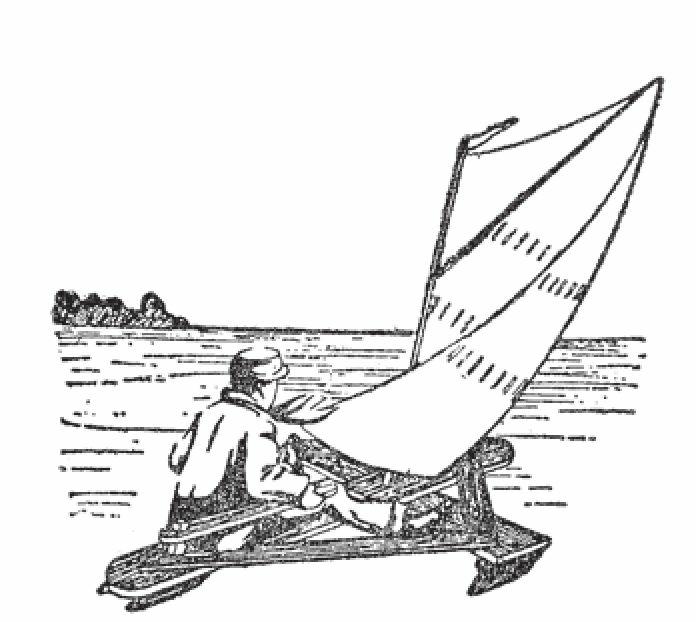 图1 木桶板制作的雪橇