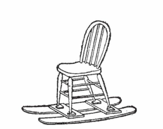 图2 雪橇椅