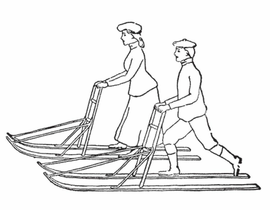 助推式雪橇