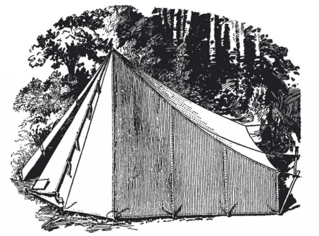 独木舟型或多变型帐篷对于轻装旅行且经常迁移的野营者来说是很好的,用单根杆子就能很快搭建。