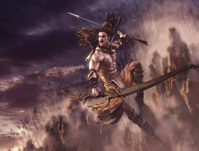 骁勇善战的古印度战士