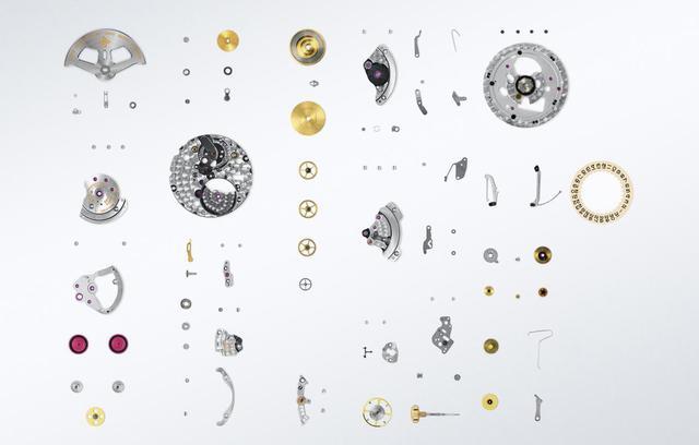 机械表零件图