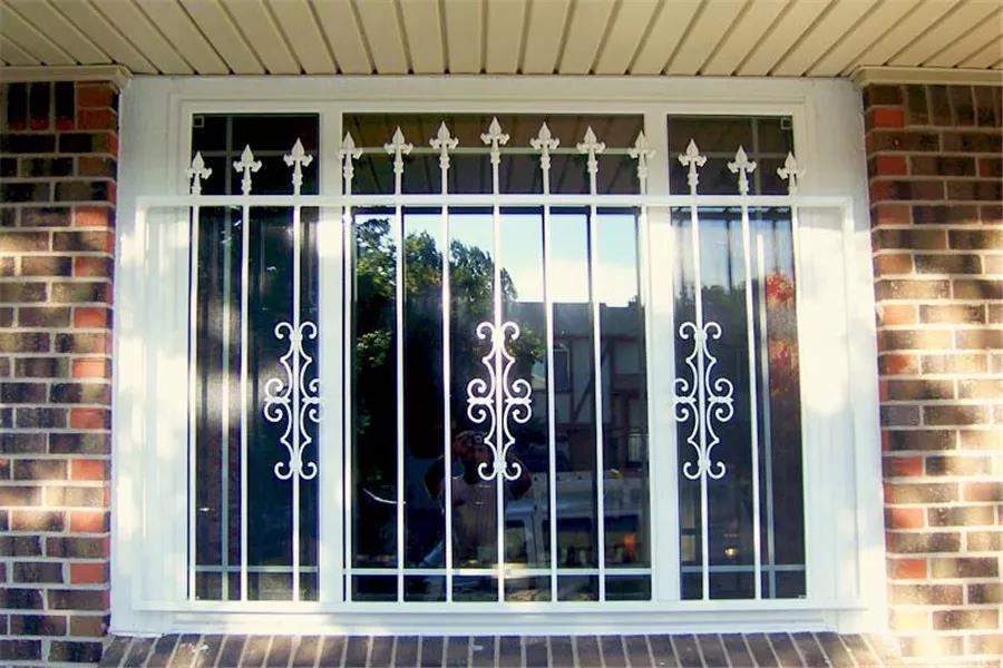 窗户上防盗安全条