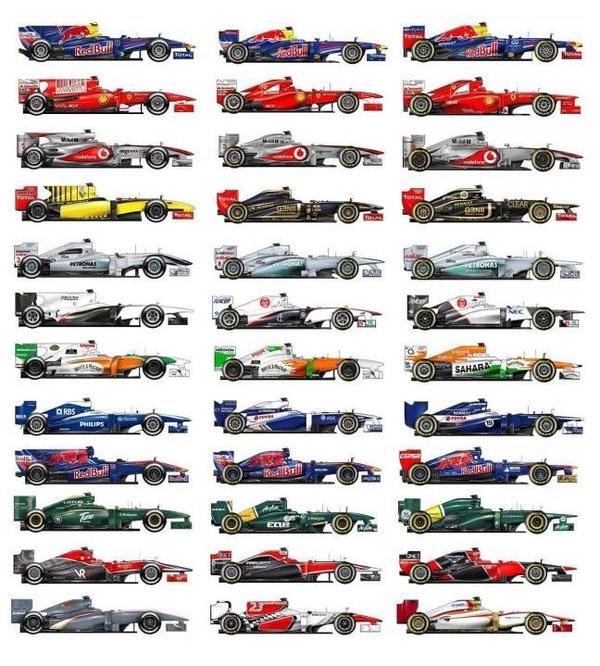 F1配色方案