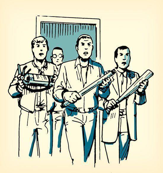 和罪犯干架技巧