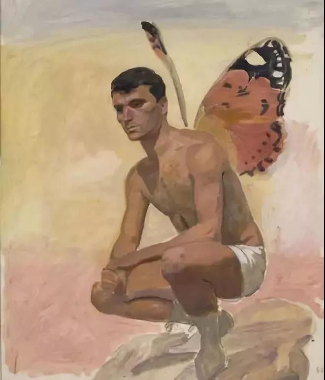 Yiannis Tsaroychis | Man with butterfly wings