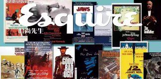 Esquire评出74部男人必看的电影