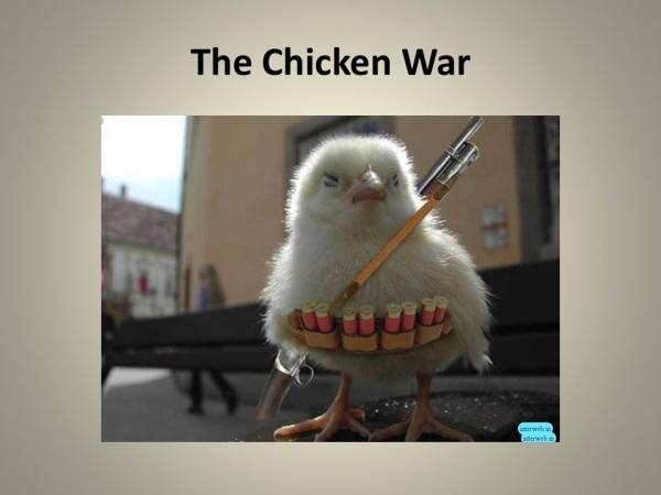 """""""鸡肉战争"""""""