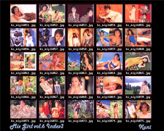 Mix Girl Series 写真