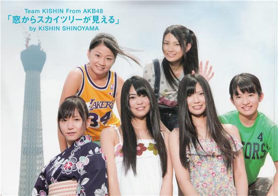 窓からスカイツリーが見える AKB48写真集 封面