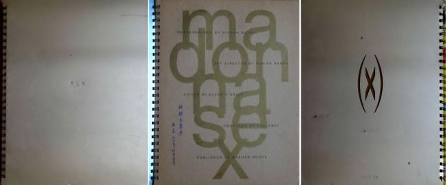 麦当娜《SEX》写真封面