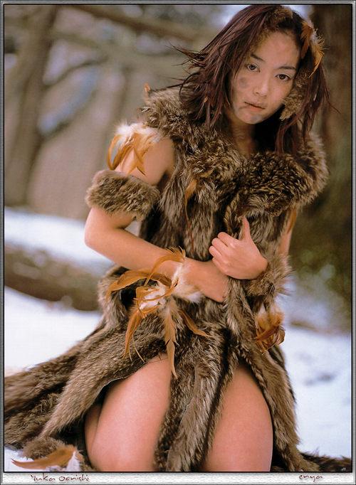 大西結花写真集-遠野冬