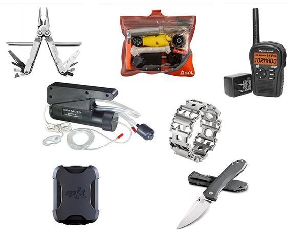 最受欢迎的野外生存工具