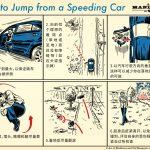 如何从失控的汽车中跳车