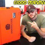 价值1000美元的应急箱子