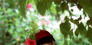 松本小雪という不思議少女写真