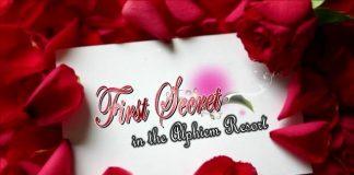 张美仁爱《The Secret Rose》封面